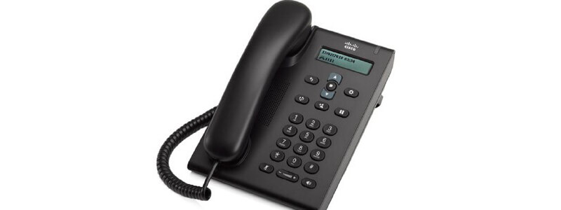 CP-3905 Cisco Unified SIP Phone 3905, Charcoal, Standard Handset