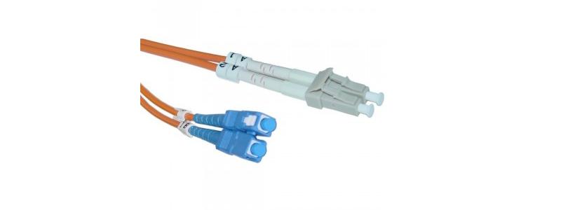 SC-LC-1-Meter-Multimode-Fiber-Optic-Cable