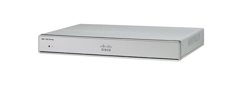 C1111-4PWQ ISR 1100 4 Ports Dual GE WAN Router w/ 802.11ac -Q WiFi
