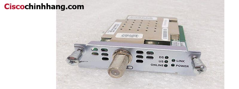 HWIC-CABLE-E/J-2 1-Port Euro/J-DOCSIS 2.0 Cable Modem HWIC Cisco Router High-Speed WAN Interface card