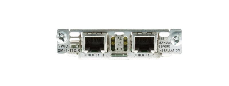 VWIC-2MFT-T1-DIR Kép T1 / Fract Multiflex Trk w / CSU / DSU, D / I, Rơle bảo vệ