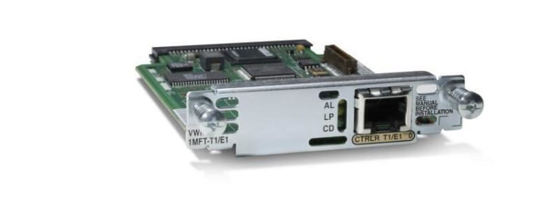 VWIC2-1MFT-G703 1-Port 2nd Gen Multiflex Trunk Voice/WAN Int. Card - G.703