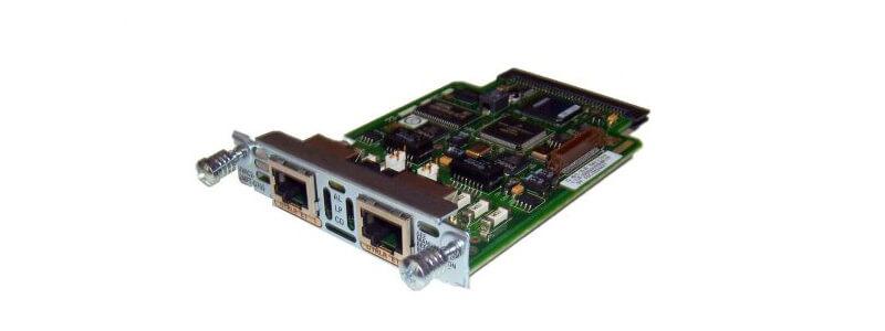 VWIC3-2MFT-G703 2-Port 3rd Gen Multiflex Trunk Voice/WAN Int. Card - G.703