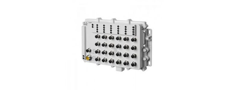 IE-2000-24T67-B IE2000 IP67 Switch with 24 FE M12 ports