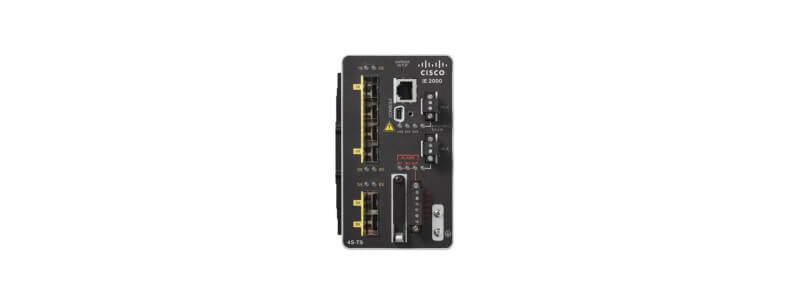 IE-2000-4T-B IE2000 Switch with 6 FE Copper ports