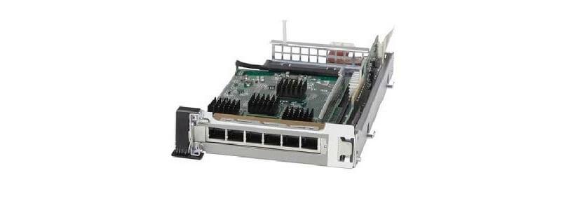 ASA-IC-6GE-CU-C ASA 5545-X/5555-X Interface Card 6-port 10/100/1000, RJ-45