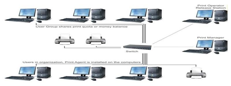 Switch Cisco kết nối các thiết bị